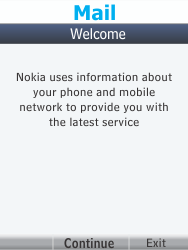 Nokia 301-1 - E-mail - Manual configuration - Step 4