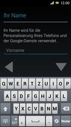Sony Xperia J - Apps - Einrichten des App Stores - Schritt 5