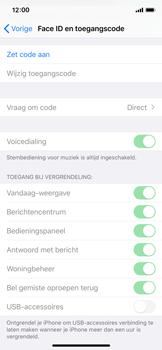 Apple iPhone X - iOS 13 - Beveiliging - stel in of wijzig pincode voor je toestel - Stap 4