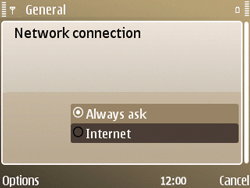 Nokia E72 - Internet - Manual configuration - Step 25