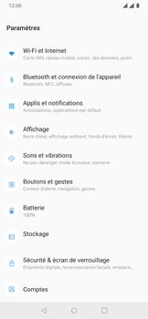 OnePlus 7 - Internet et connexion - Accéder au réseau Wi-Fi - Étape 4