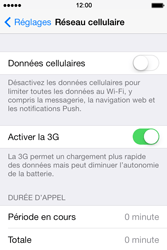 Apple iPhone 4S iOS 7 - Internet et roaming de données - Configuration manuelle - Étape 5