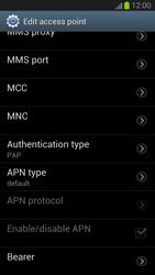 Samsung Galaxy S III - Internet and data roaming - Manual configuration - Step 13
