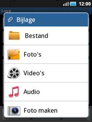 Samsung S5570 Galaxy Mini - e-mail - hoe te versturen - stap 9
