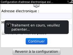 BlackBerry 9780 Bold - E-mail - Configuration manuelle - Étape 7