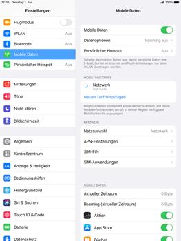 Apple iPad mini (2019) - iPadOS 13 - Netzwerk - So aktivieren Sie eine 4G-Verbindung - Schritt 4