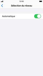 Apple iPhone SE - iOS 13 - Réseau - Sélection manuelle du réseau - Étape 5