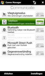 HTC T7373 Touch Pro II - netwerk en bereik - gebruik in binnen- en buitenland - stap 5