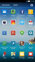 Alcatel One Touch Idol S - Rete - Selezione manuale della rete - Fase 5