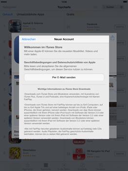 Apple iPad mini iOS 7 - Apps - Einrichten des App Stores - Schritt 9