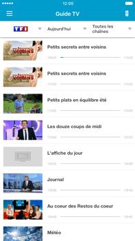Apple iPhone SE - iOS 11 - Photos, vidéos, musique - Regarder la TV - Étape 4