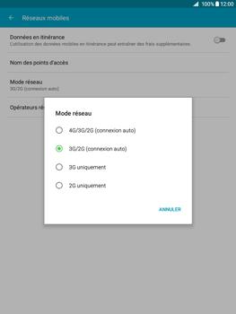 Samsung Galaxy Tab A - Internet et connexion - Activer la 4G - Étape 6