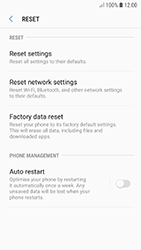 Samsung A320F Galaxy A3 (2017) - Android Oreo - Device - Factory reset - Step 7