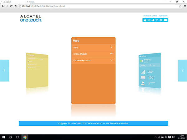 Alcatel MiFi Y900 - Software - Software-Update - Schritt 4