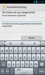 ZTE Blade III - E-Mail - Manuelle Konfiguration - Schritt 15