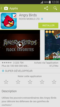 Samsung Galaxy Note 4 - Applications - Installation d