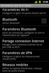 Alcatel OT-983 - Réseau - Sélection manuelle du réseau - Étape 7