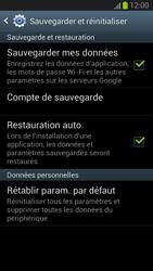 Samsung Galaxy S III - Téléphone mobile - Réinitialisation de la configuration d