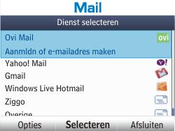Nokia Asha 201 - E-mail - handmatig instellen - Stap 5