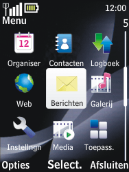 Nokia 2700 classic - e-mail - hoe te versturen - stap 3
