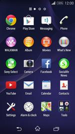 Sony D2203 Xperia E3 - E-mail - Sending emails - Step 3