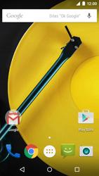 Motorola Moto E (1st Gen) (Lollipop) - Premiers pas - Comprendre les icônes affichés - Étape 1