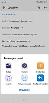 Huawei p20-dual-sim-model-eml-l29-android-pie - E-mail - Bericht met attachment versturen - Stap 10
