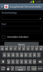 Samsung Galaxy Express - E-Mail - Manuelle Konfiguration - Schritt 13