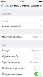 Apple iPhone 5c - E-mails - Ajouter ou modifier un compte e-mail - Étape 25