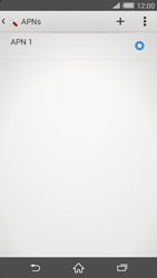Sony Xperia Z2 - Internet - Manuelle Konfiguration - Schritt 8
