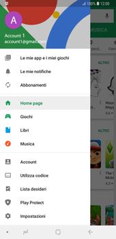 Samsung Galaxy Note9 - Applicazioni - Come verificare la disponibilità di aggiornamenti per l