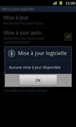 Samsung Galaxy S Advance - Logiciels - Installation de mises à jour - Étape 9