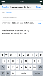 Apple iPhone 7 (Model A1778) - E-mail - Hoe te versturen - Stap 8