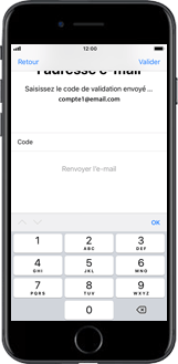 Apple iPhone 5s - iOS 11 - Applications - Créer un compte - Étape 19