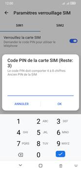 Alcatel 1S (2020) - Sécuriser votre mobile - Personnaliser le code PIN de votre carte SIM - Étape 9