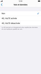Apple iPhone 8 - iOS 13 - Réseau - Comment activer une connexion au réseau 4G - Étape 6