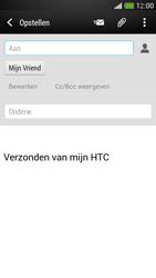 HTC One Mini - E-mail - hoe te versturen - Stap 8