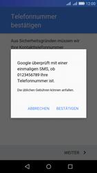 Huawei Y6 - Apps - Konto anlegen und einrichten - Schritt 8