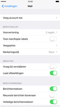 Apple Apple iPhone 6s Plus iOS 10 - E-mail - Handmatig instellen (yahoo) - Stap 4