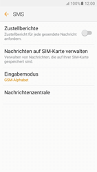 Samsung Galaxy S6 - SMS - Manuelle Konfiguration - 8 / 11