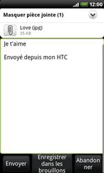HTC A8181 Desire - E-mail - envoyer un e-mail - Étape 11
