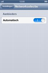 Apple iPhone 4 (iOS 6) - netwerk en bereik - gebruik in binnen- en buitenland - stap 4