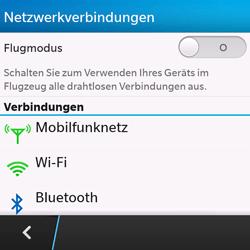 BlackBerry Q10 - Bluetooth - Geräte koppeln - Schritt 7