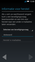 Alcatel OT-5036X Pop C5 - Applicaties - Account aanmaken - Stap 13