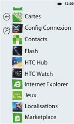HTC C110e Radar - Internet - Navigation sur Internet - Étape 2