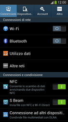 Samsung Galaxy S 4 LTE - Dispositivo - Ripristino delle impostazioni originali - Fase 5