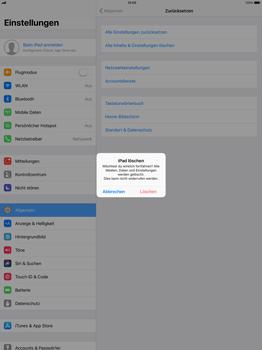 Apple ipad-pro-12-9-inch-mit-ios-11 - Fehlerbehebung - Handy zurücksetzen - Schritt 8