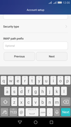 Huawei Y6 - E-mail - Manual configuration IMAP without SMTP verification - Step 12