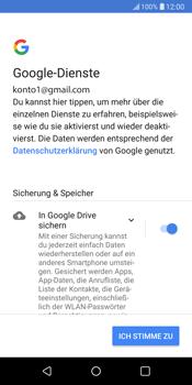 LG G6 - Apps - Konto anlegen und einrichten - 20 / 22