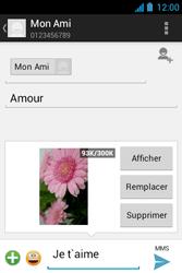 Acer Liquid Z3 - MMS - envoi d